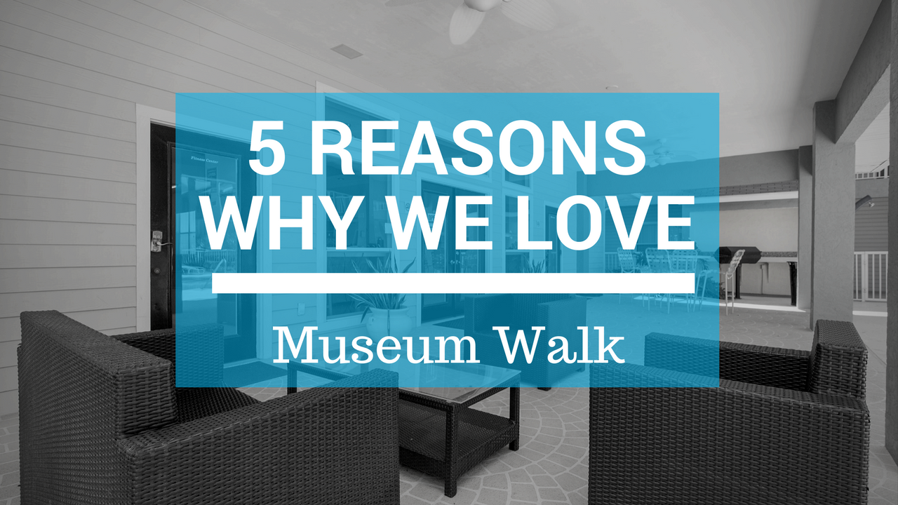 Five Reasons Why We Love Museum Walk Apartments In Gainesville Fl